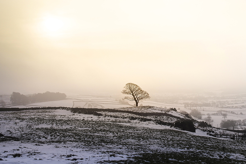 Winter in Peak District