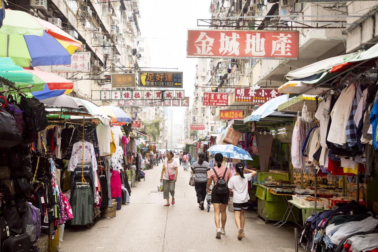 Find a fascinating market around every corner.