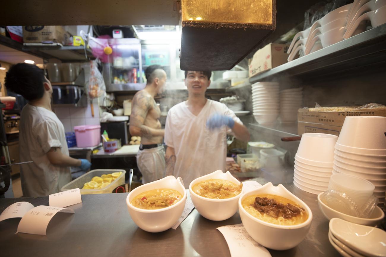 Hong Kong style cafe (Cha Chang Teng) in Sham Shui Po.