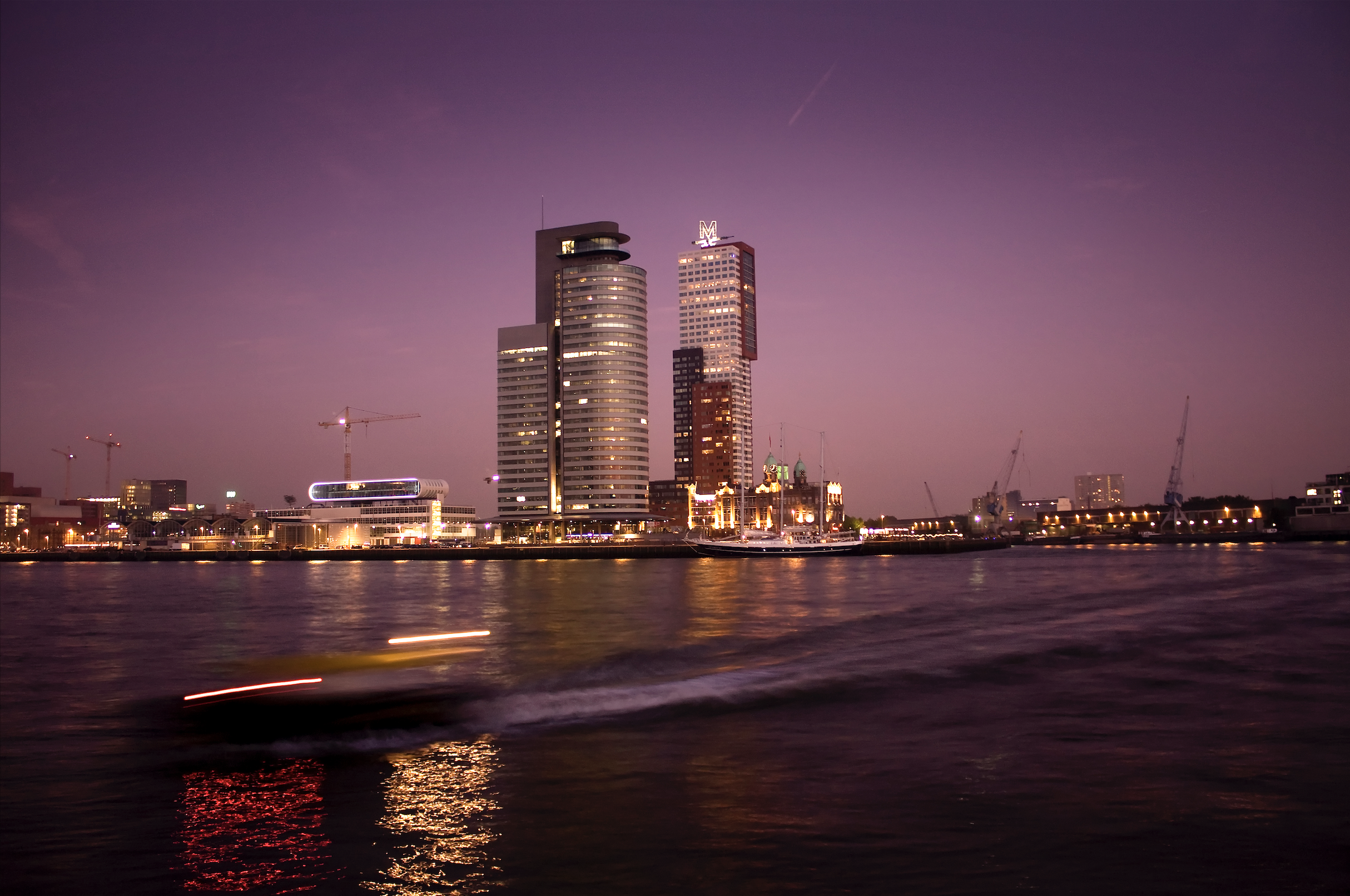 Rotterdam by Night 2008