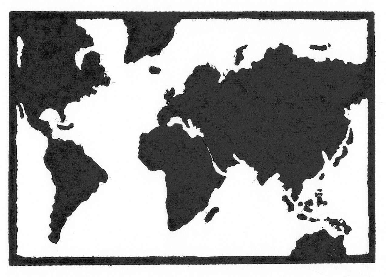 No Borders • © Fred Montague  $48 • image 8 x 5.5 • mat 14 x 11  Edition size: 88 • status: available