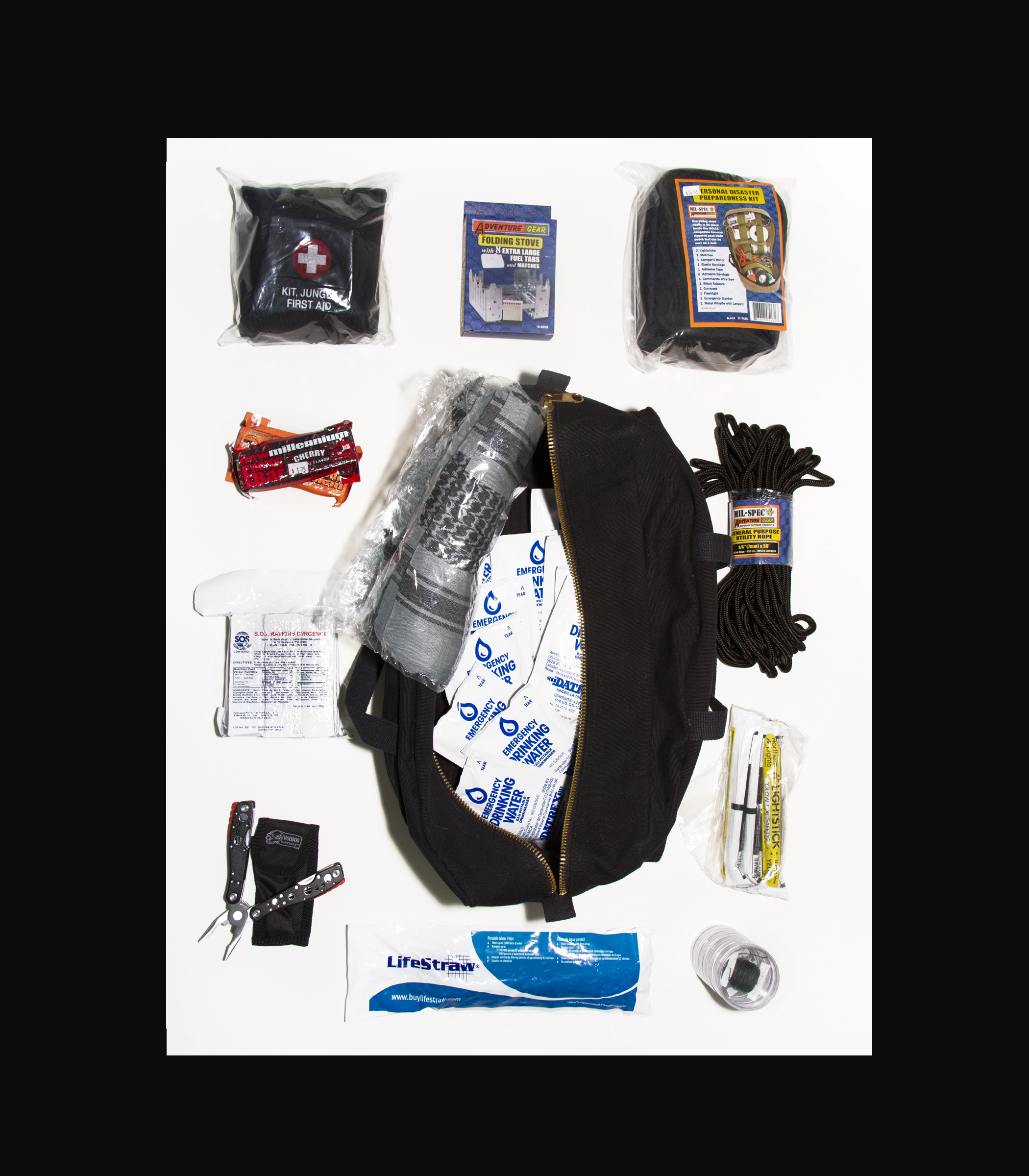 SP-Gear Bug Out Bag Level 2 $150