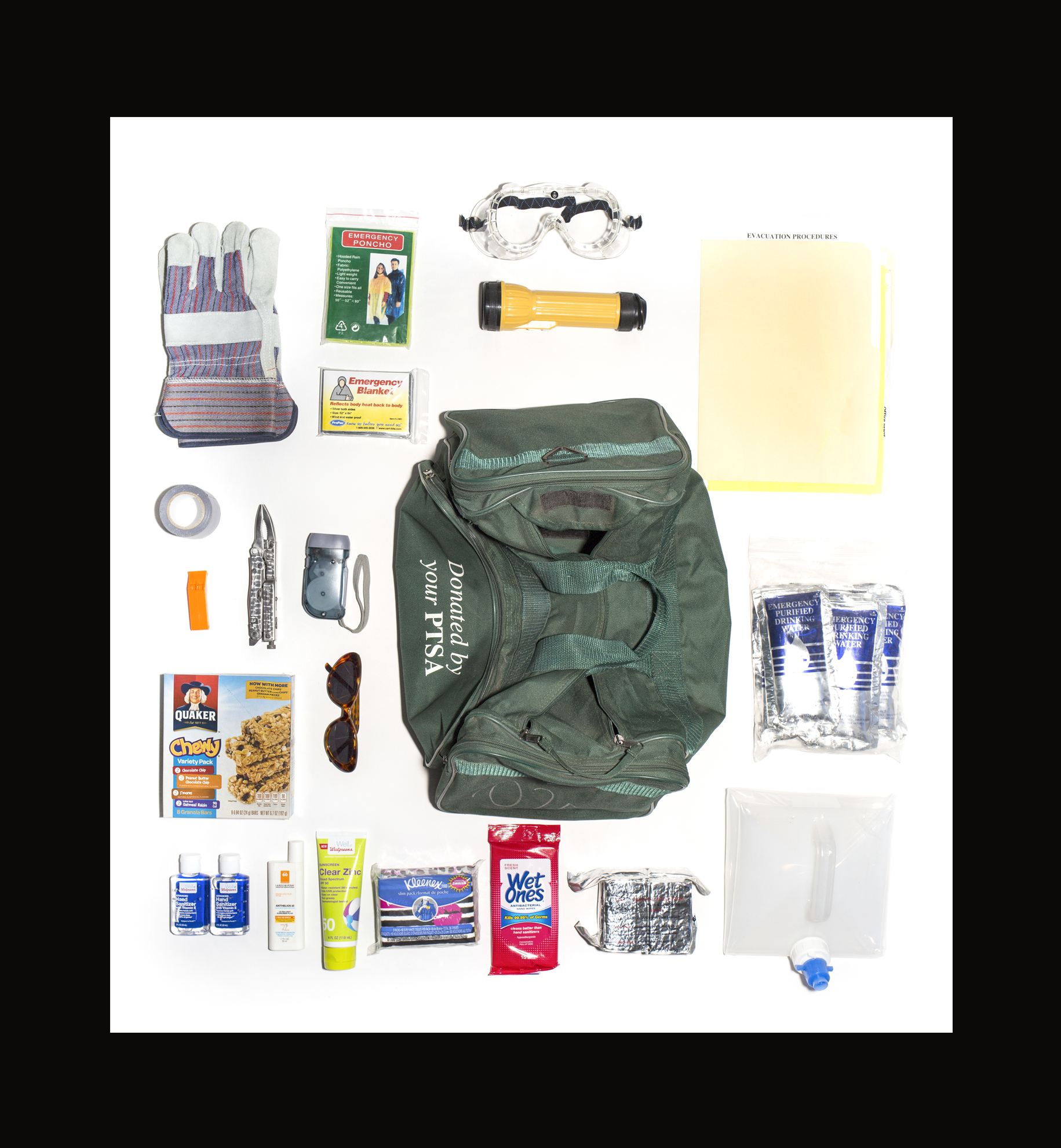 Ms. S' Bug Out Bag