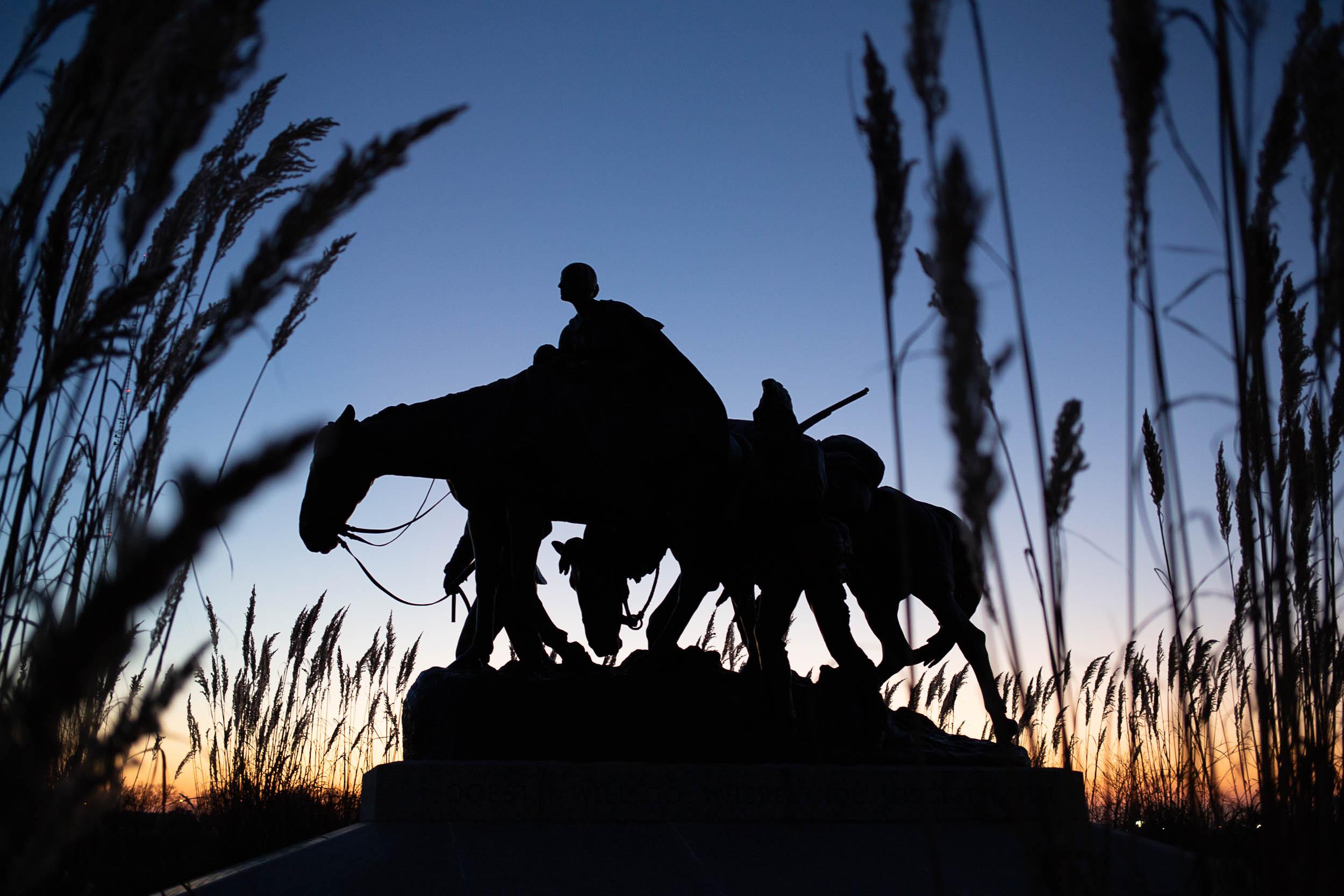 Pioneer Mother Memorial.  Kansas City, Missouri