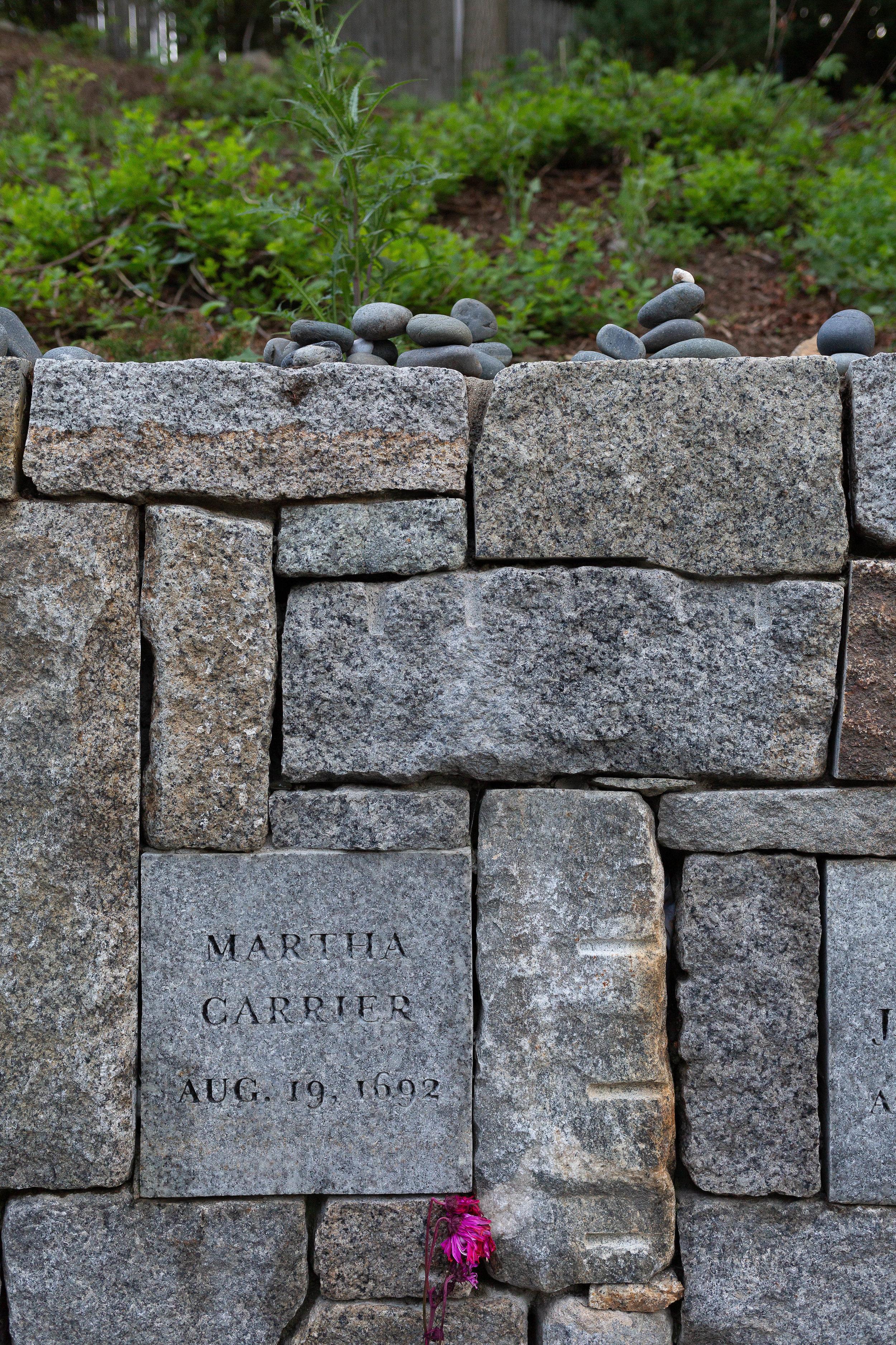 Proctor's Ledge Memorial, Salem, Massachusetts. Dedicated 2017