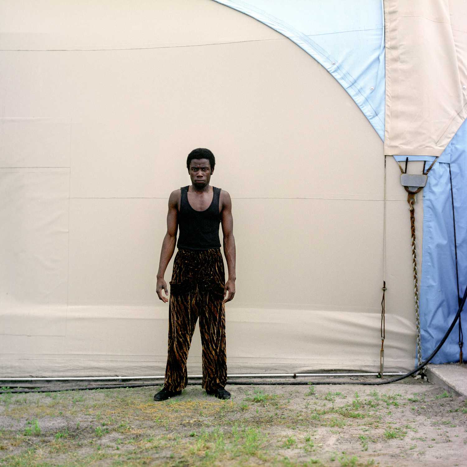 african american circus performer central florida fair