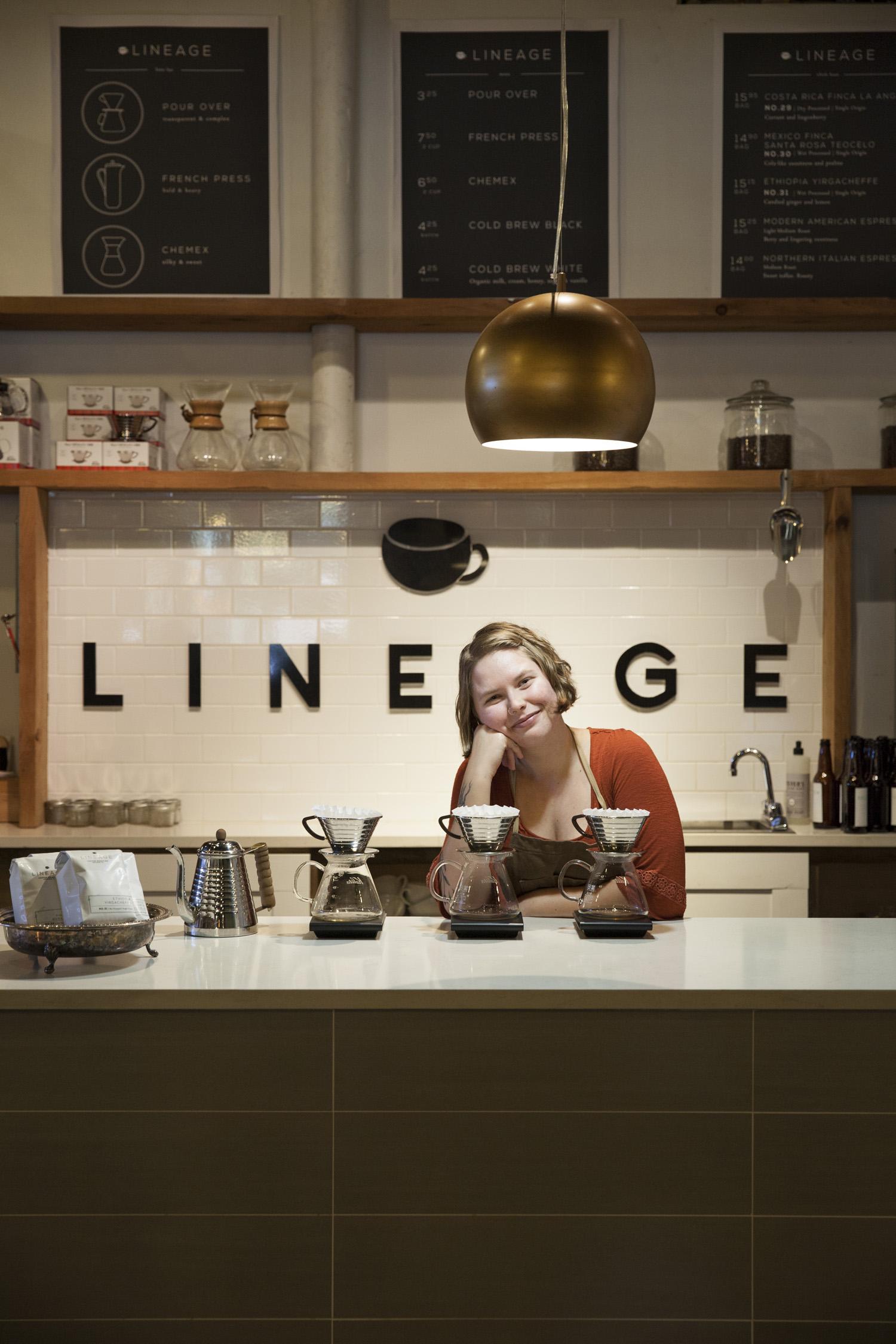 lineage coffee roasters food photographer orlando