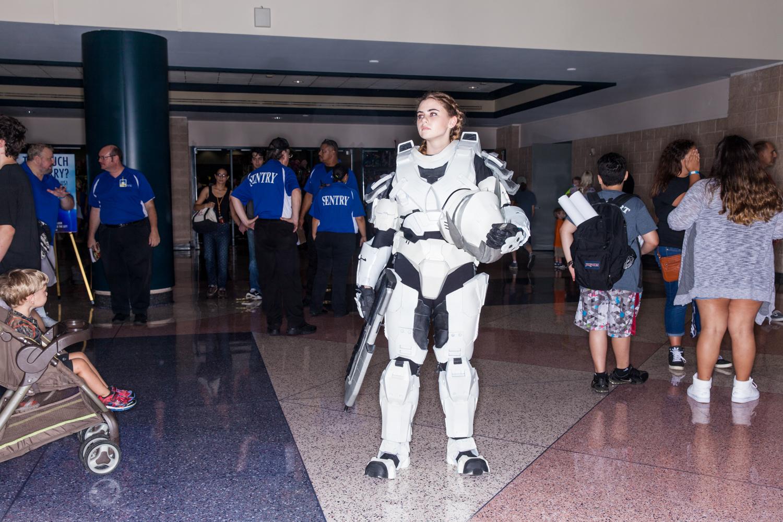 storm trooper star wars comic con san diego california