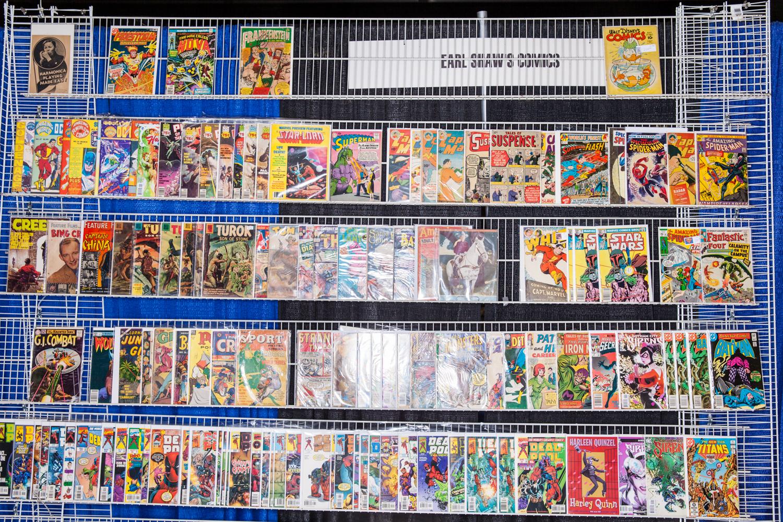 comic books con san diego california
