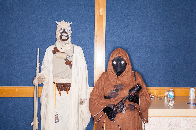 star wars force comic con ewok sand people