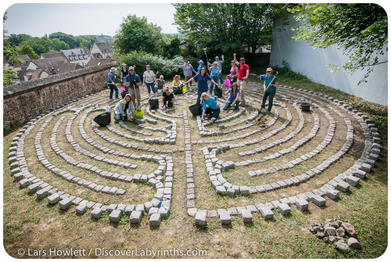 Masion St. Yves Labyrinth