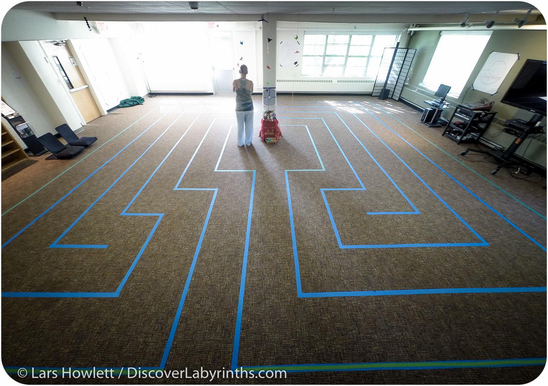 Tape Labyrinth