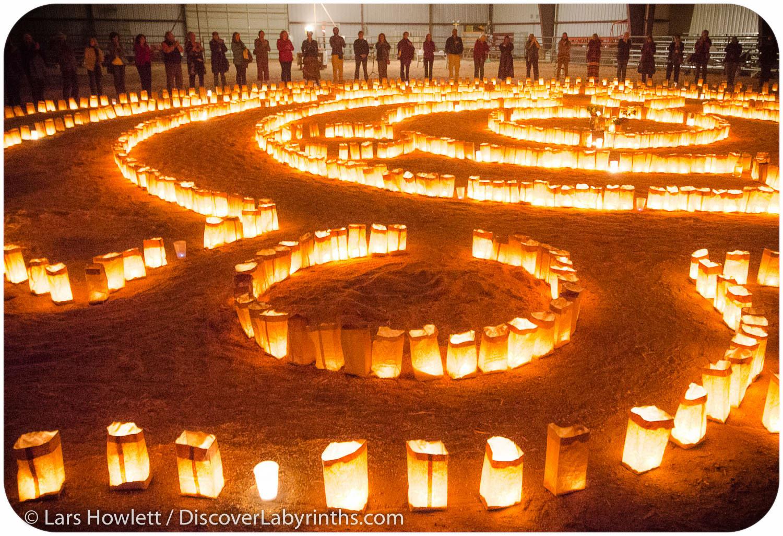 Luminaria Labyrinth