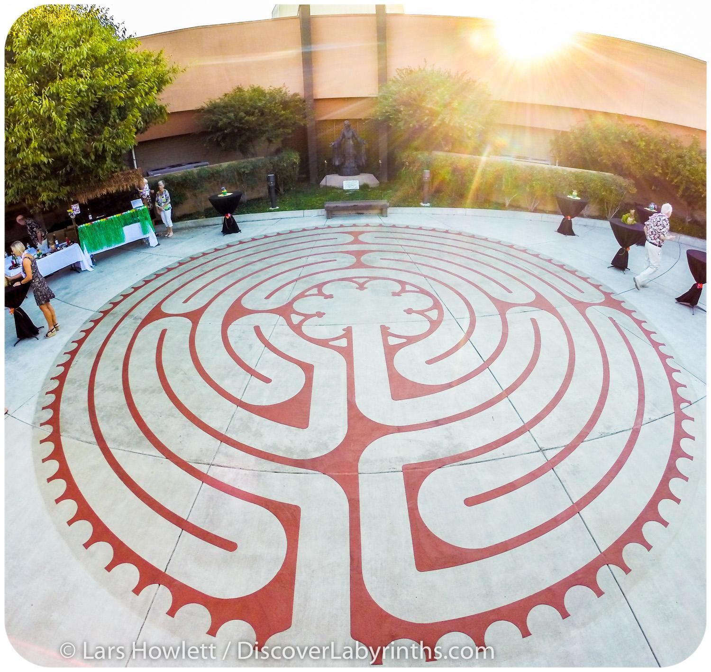 Chartres Church Labyrinth