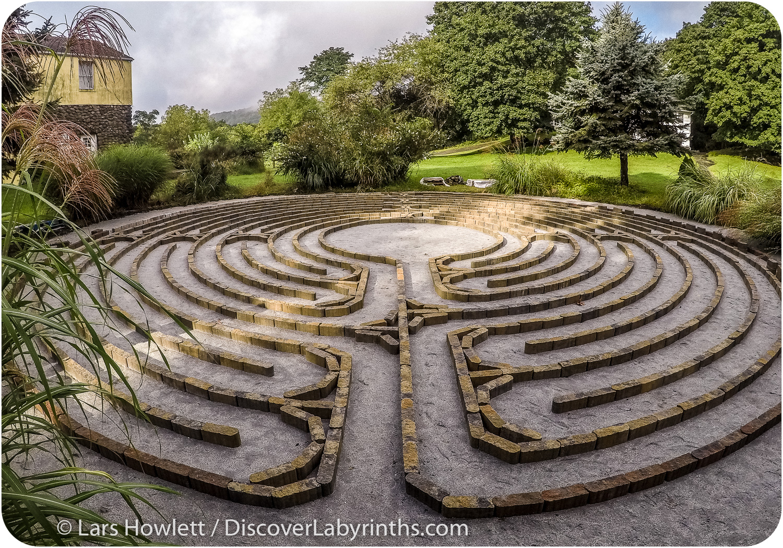 Paver Labyrinth