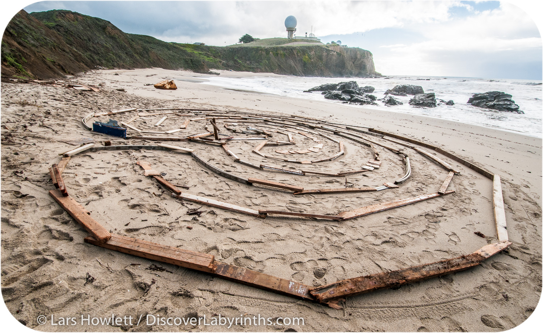 Driftwood Labyrinth