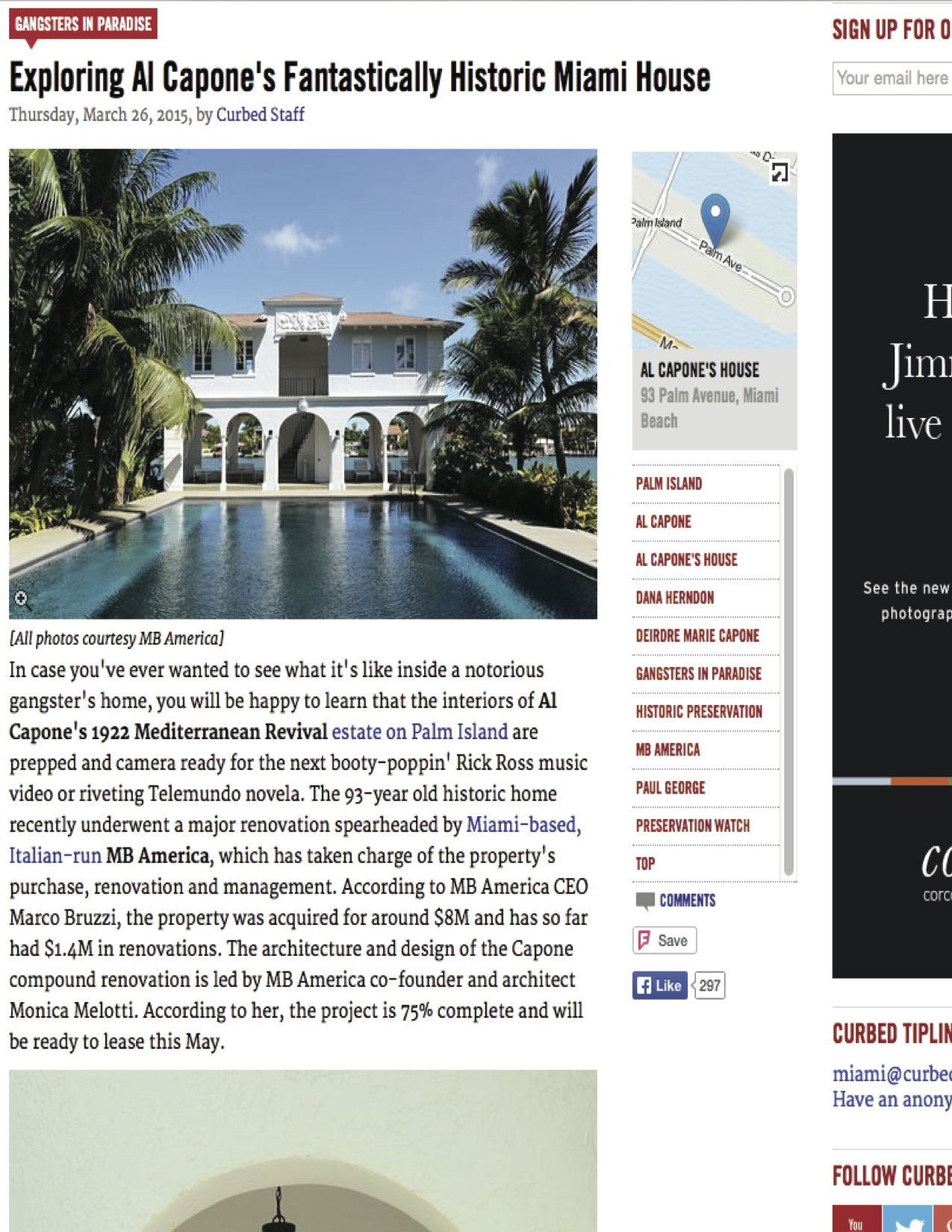 """<p><strong>Curbed Miami</strong><a href=""""http://miami.curbed.com/archives/2015/03/26/al-capone-house-media-tour.php"""" target=""""_blank"""">View Article →</a></p>"""