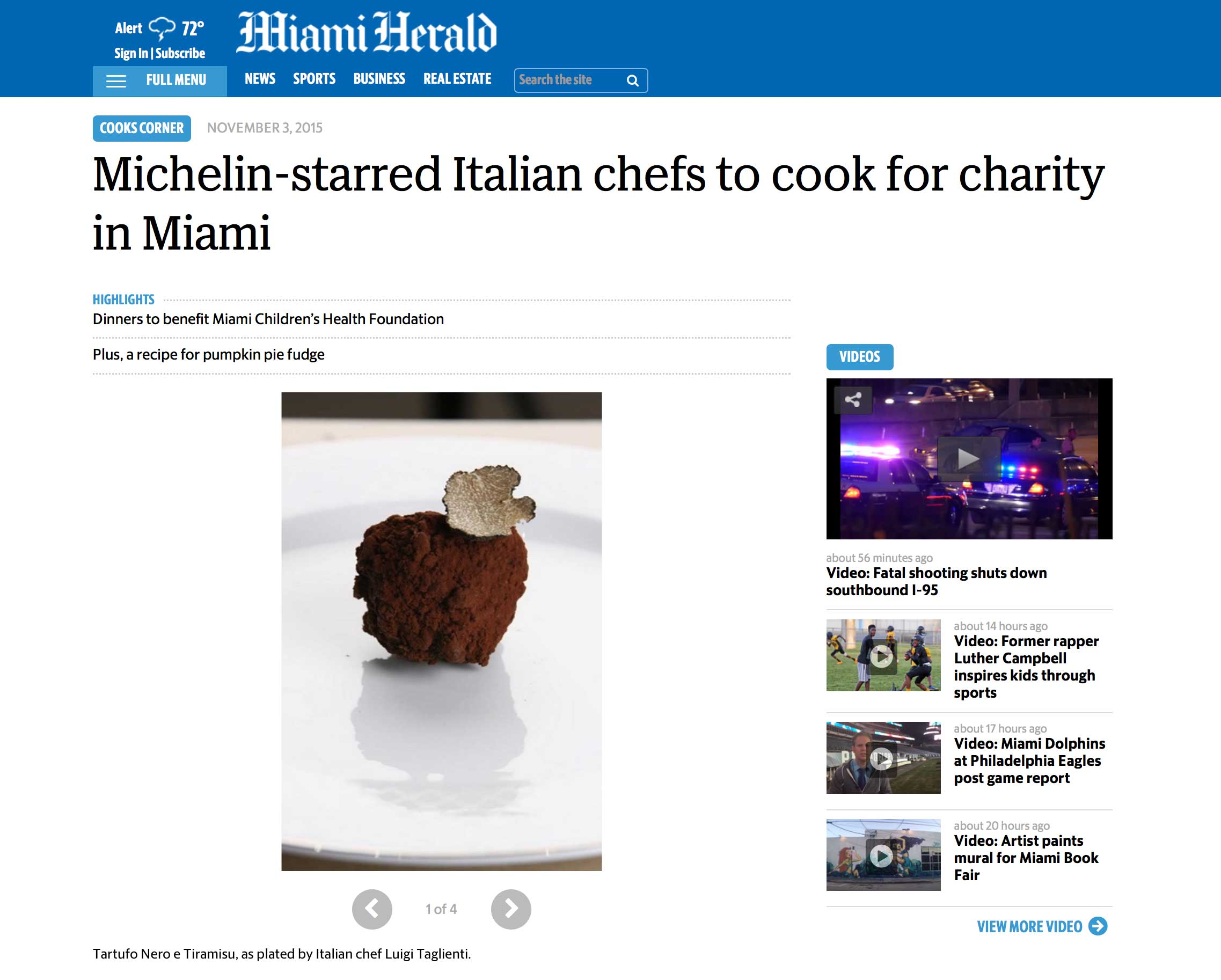 """<p><strong>Miami Herald</strong><a href=""""http://www.miamiherald.com/living/food-drink/cooks-corner/article42583329.html"""" target=""""_blank"""">Read Article→</a></p>"""