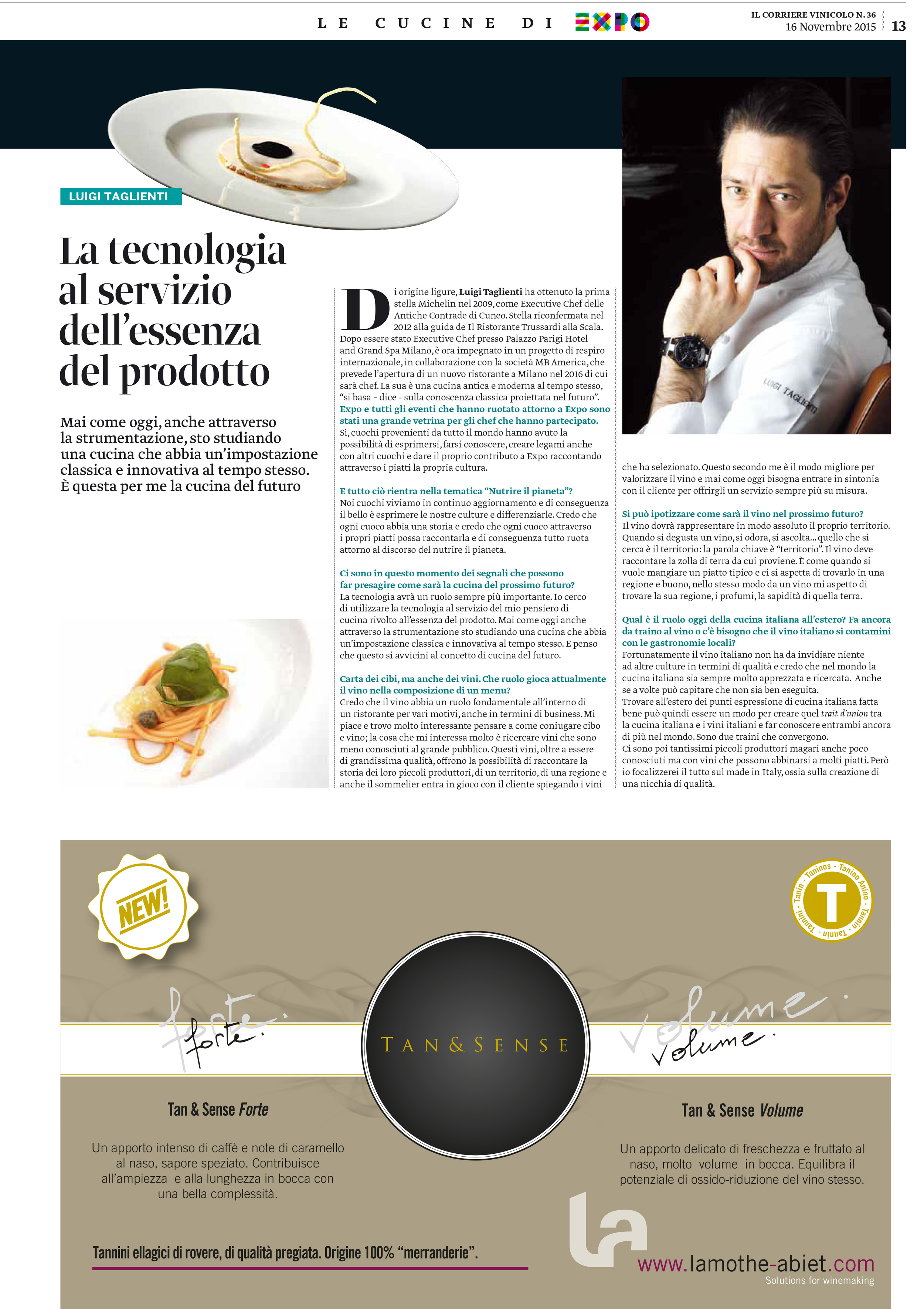 """<p><strong>IL CORRIERE VINICOLO</strong><a href=""""/s/IL_CORRIERE_VINICOLO_161115.pdf"""" target=""""_blank"""">Download Article→</a></p>"""