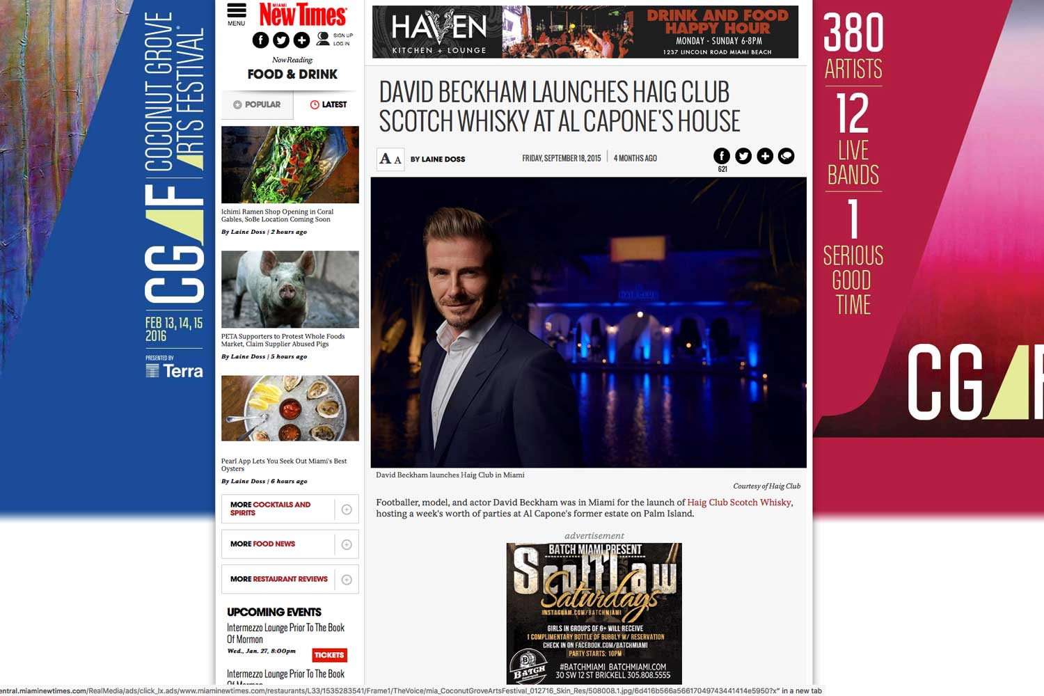 """<p><strong>Miami New Times</strong><a href=""""http://www.miaminewtimes.com/restaurants/david-beckham-launches-haig-club-scotch-whisky-at-al-capones-house-7905327"""" target=""""_blank"""">Read Article→</a></p>"""
