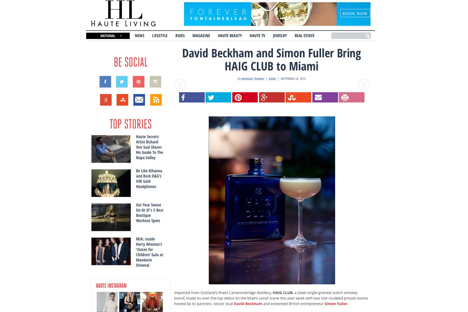 """<p><strong>Haute Living</strong><a href=""""http://hauteliving.com/2015/09/david-beckham-and-simon-fuller-bring-haig-club-to-miami/586952/"""" target=""""_blank"""">Read Article→</a></p>"""