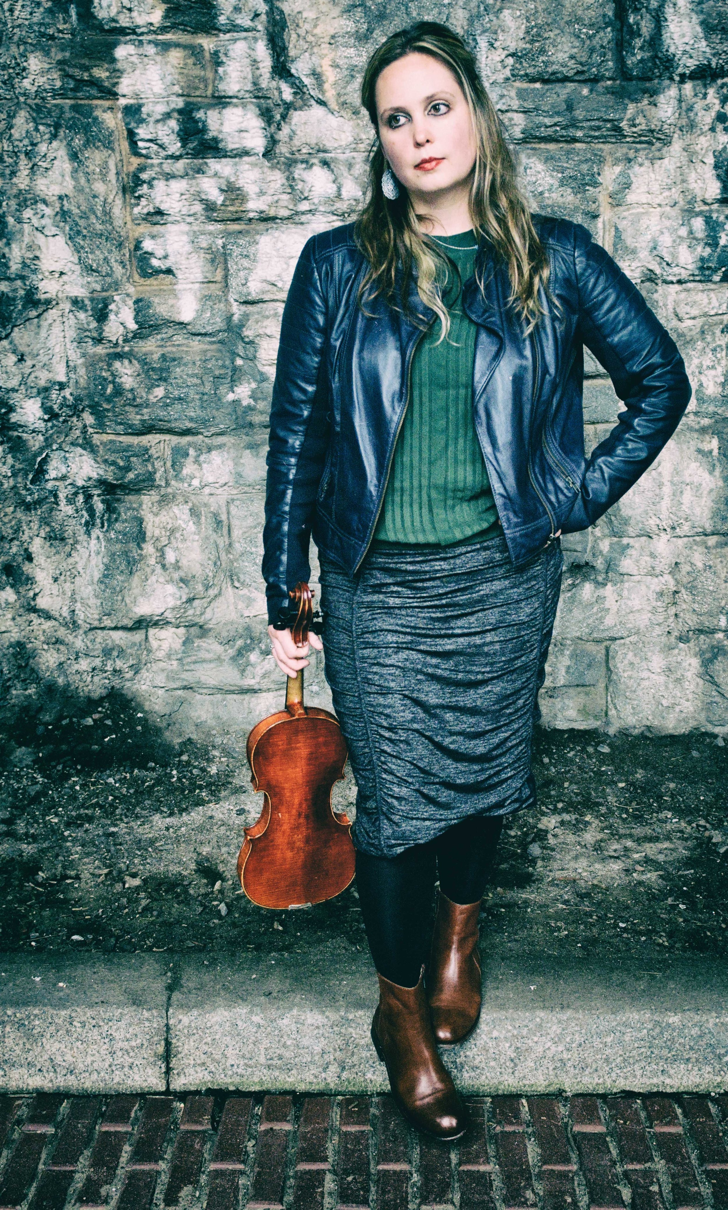 Emily Ondracek-Peterson, violin