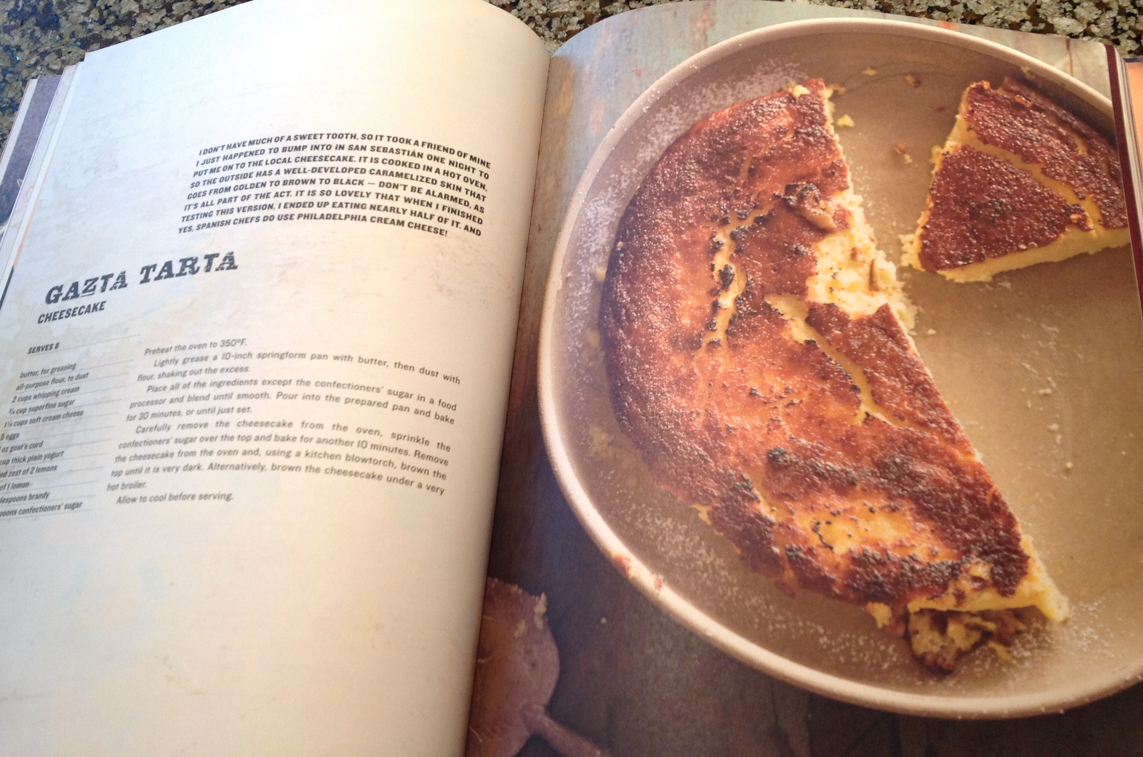 The Gatza Tarta from RUSTICA A Return to Spanish Home Cooking by Frank Camorra and Richard Cornish