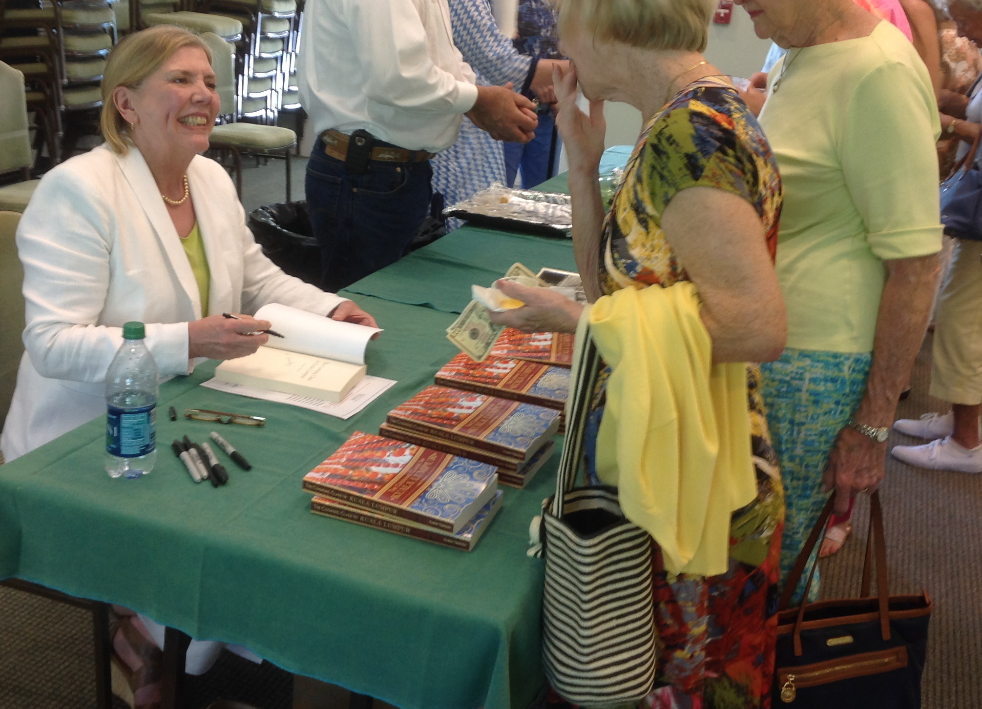 Meeting the audience and signing The Cooking Class in Kuala Lumpur