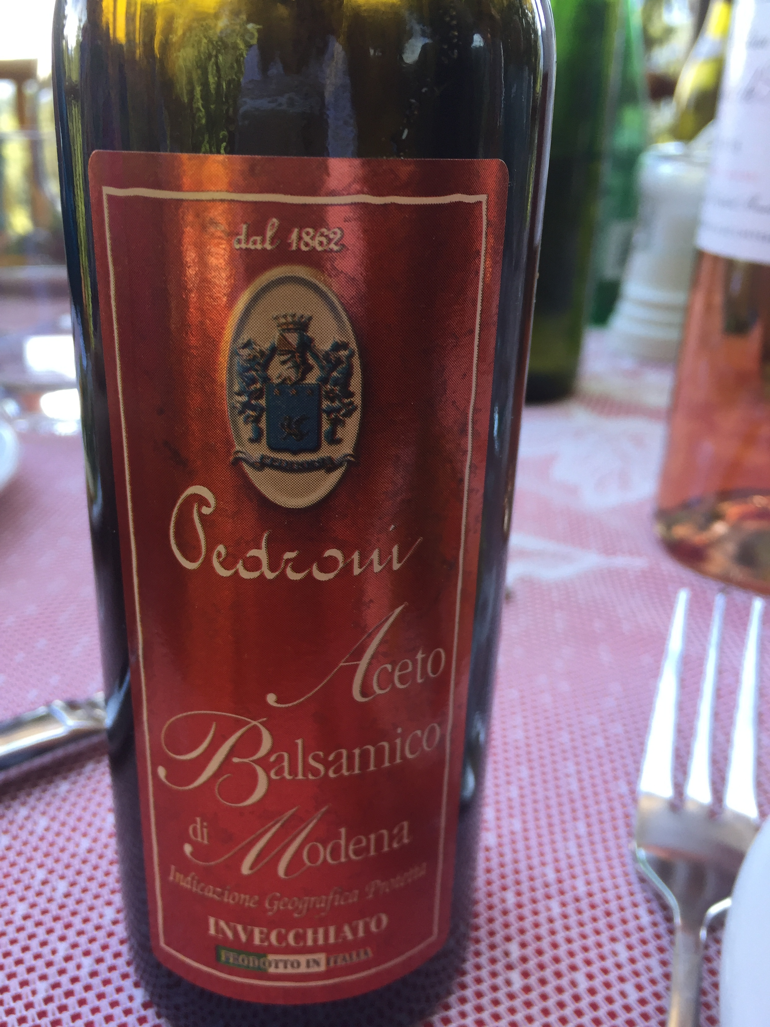 This is not fake balsamic. It's the real deal and worth the money.