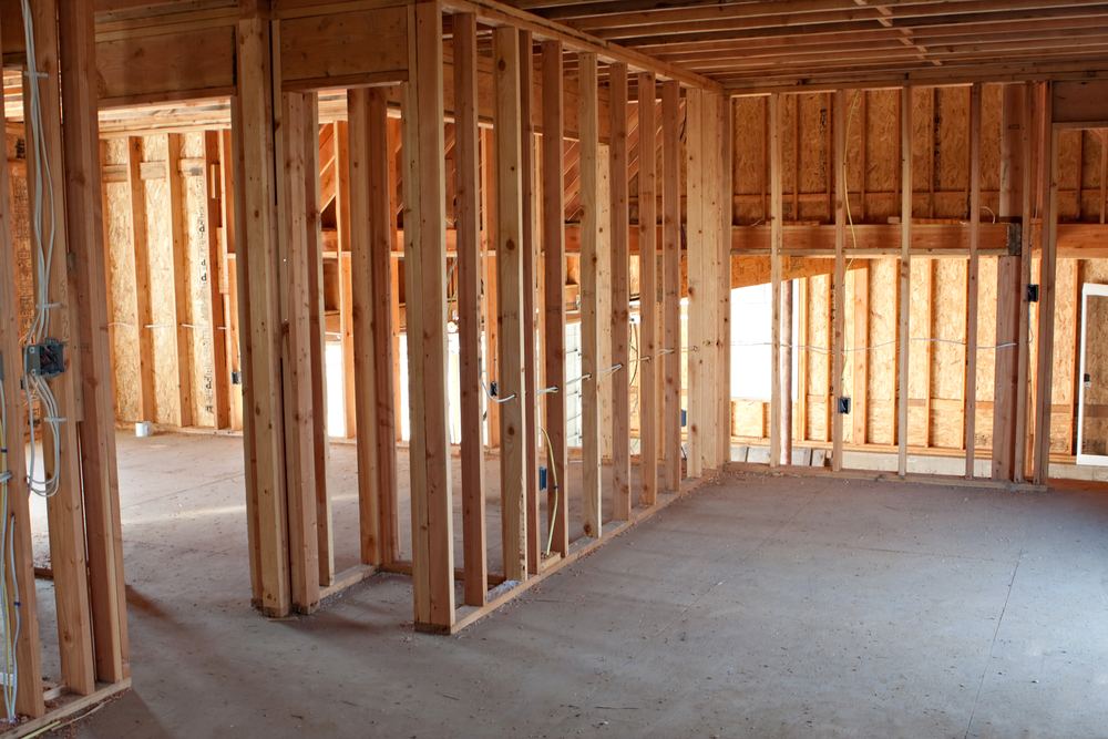 Interior Office framing and general commercial renovations contracting