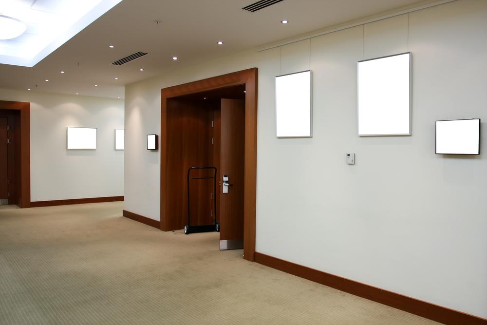 Finished Office Renovation Edmonton