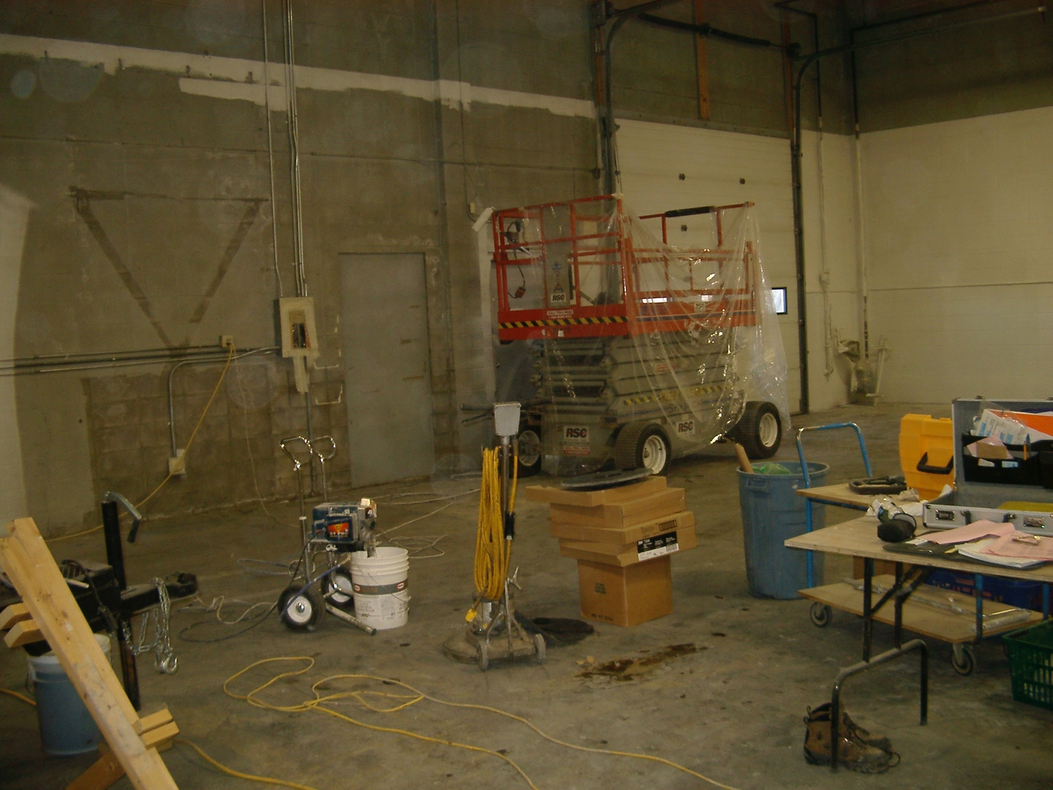 WS03  Warehouse & Shops - General Contractors Commercial Renovations in Edmonton, Office and Warehouse Project Contractors
