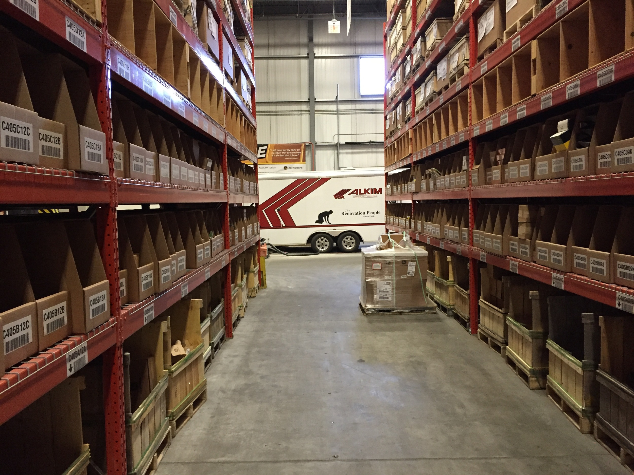 WS08  Warehouse & Shops - General Contractors Commercial Renovations in Edmonton, Office and Warehouse Project Contractors