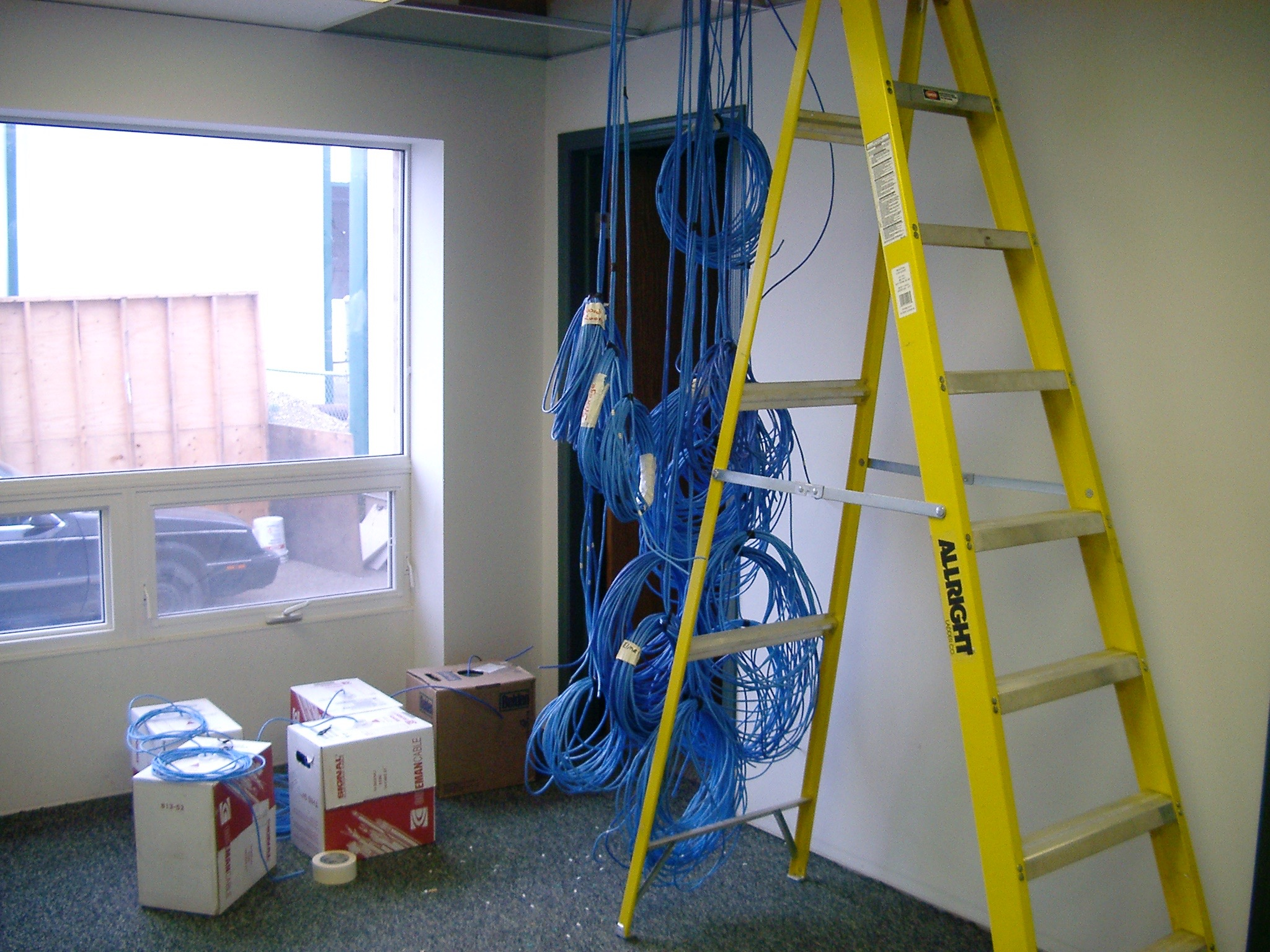 IT01  IT Communications - General Contractors Commercial Renovations in Edmonton, Office and Warehouse Project Contractors