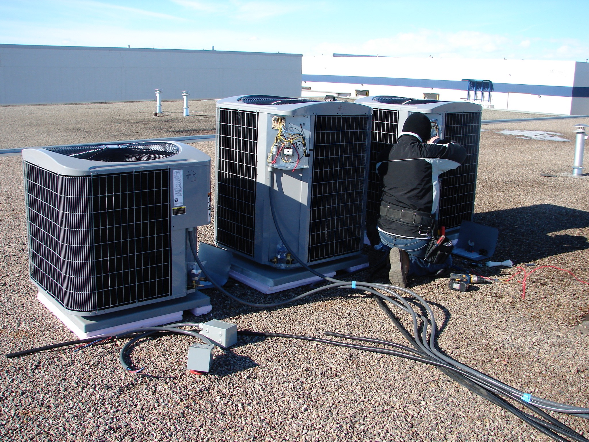 HV03  HVAC - General Contractors Commercial Renovations in Edmonton, Office and Warehouse Project Contractors
