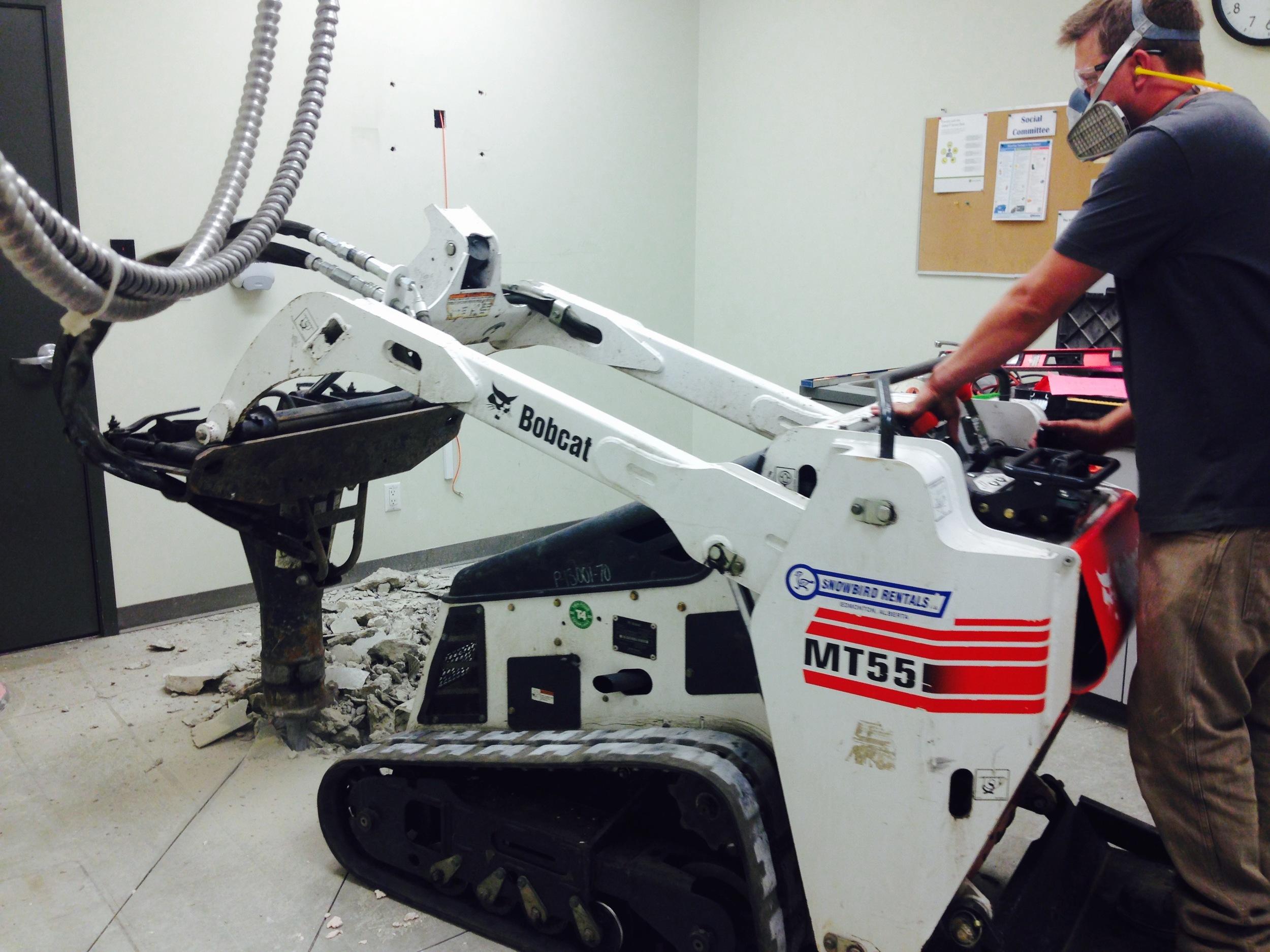 PB03  Plumbing - General Contractors Commercial Renovations in Edmonton, Office and Warehouse Project Contractors