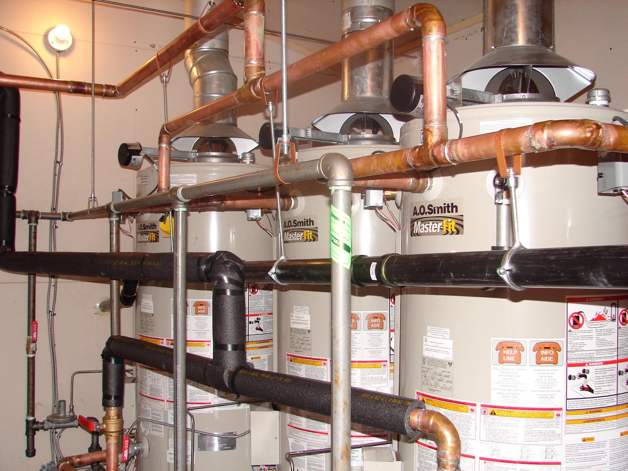 PB05  Plumbing - General Contractors Commercial Renovations in Edmonton, Office and Warehouse Project Contractors