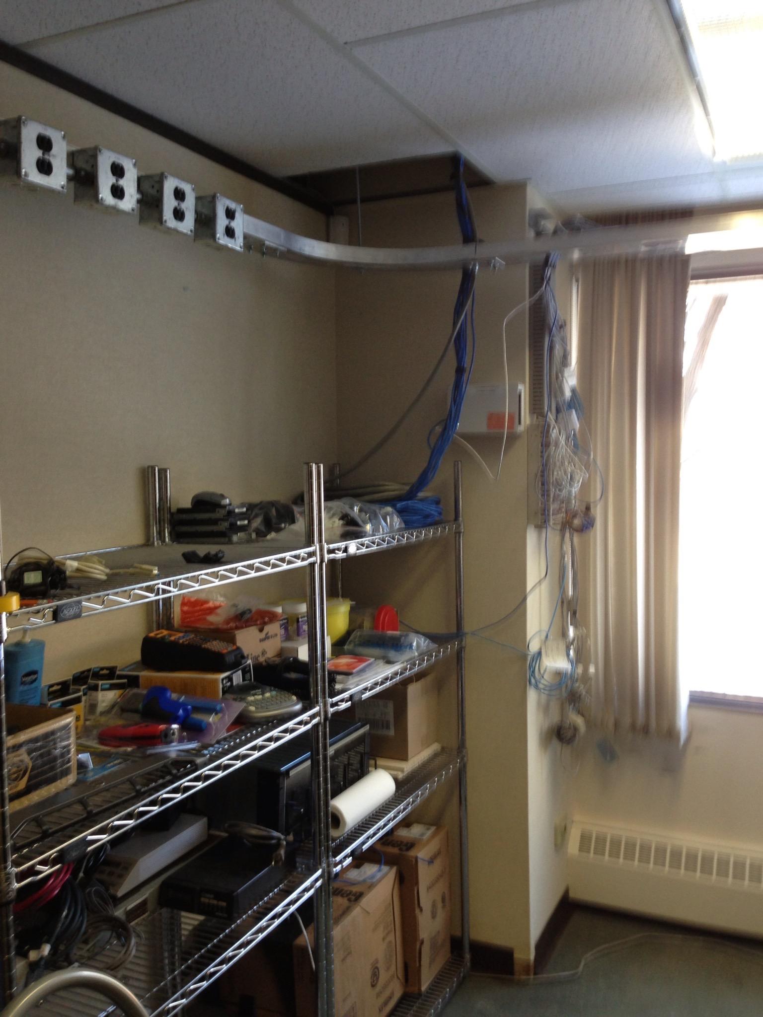 EL07  Electrical - General Contractors Commercial Renovations in Edmonton, Office and Warehouse Project Contractors