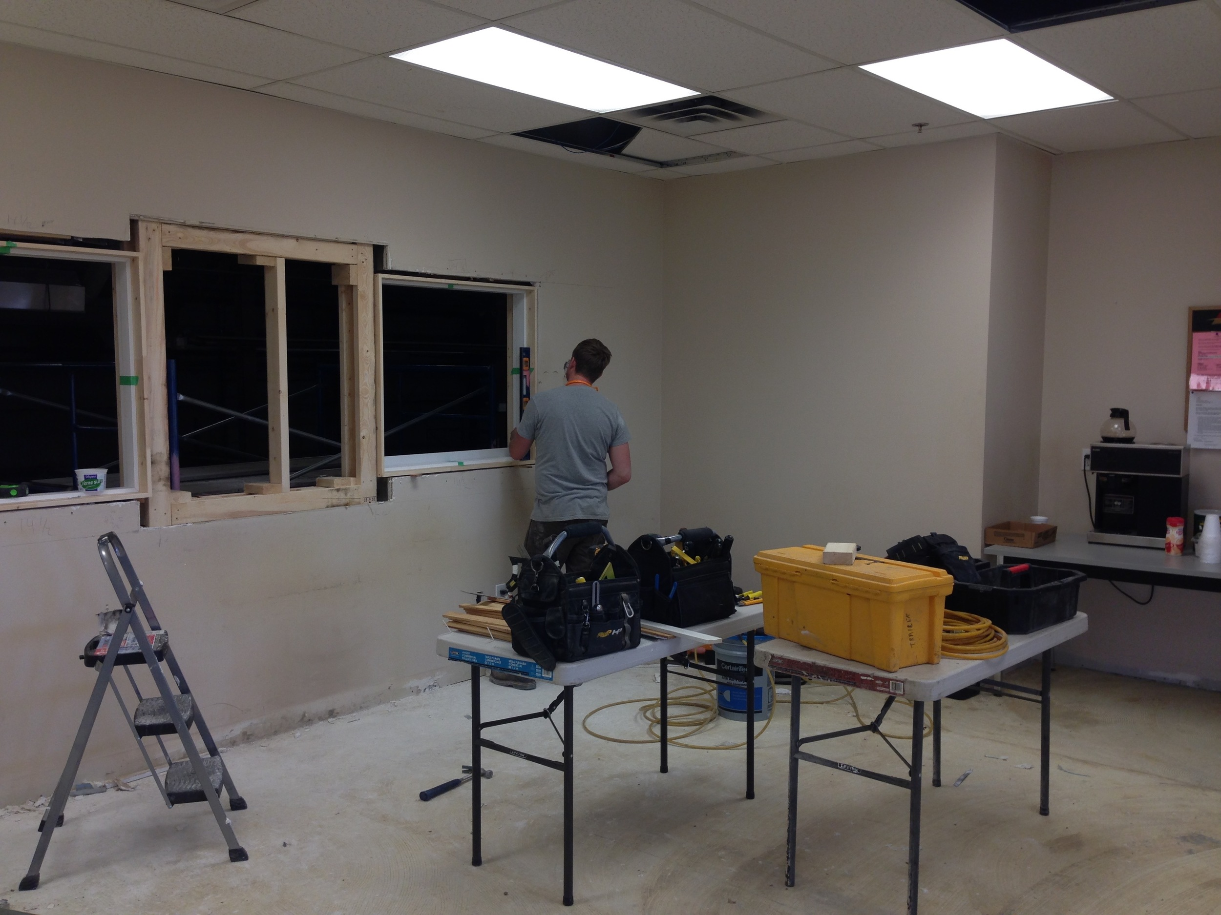 CP01  Carpentry - General Contractors Commercial Renovations in Edmonton, Office and Warehouse Project Contractors