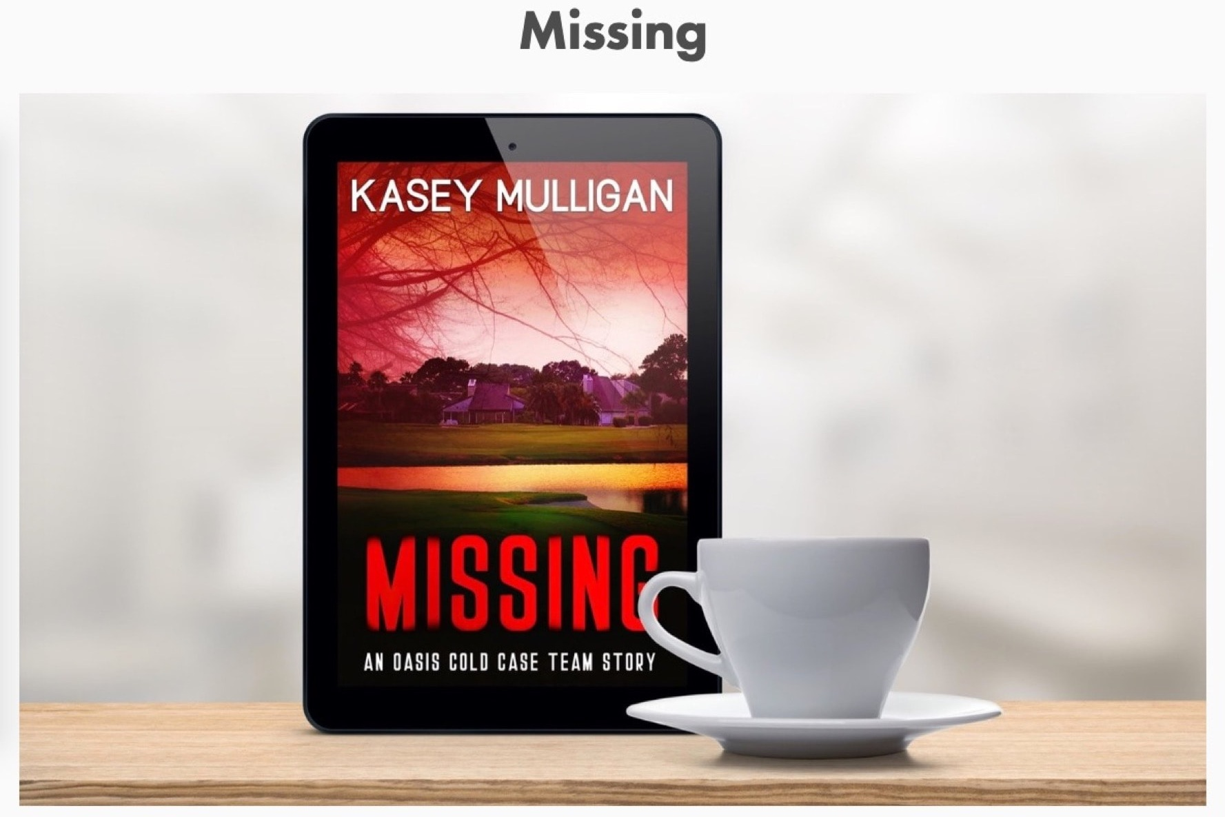 Kasey Mulligan - Details coming soon.