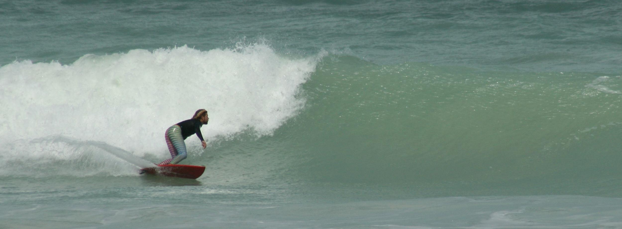 Cable Beach 'bottom turn'. Photo: Madelaine Dicke
