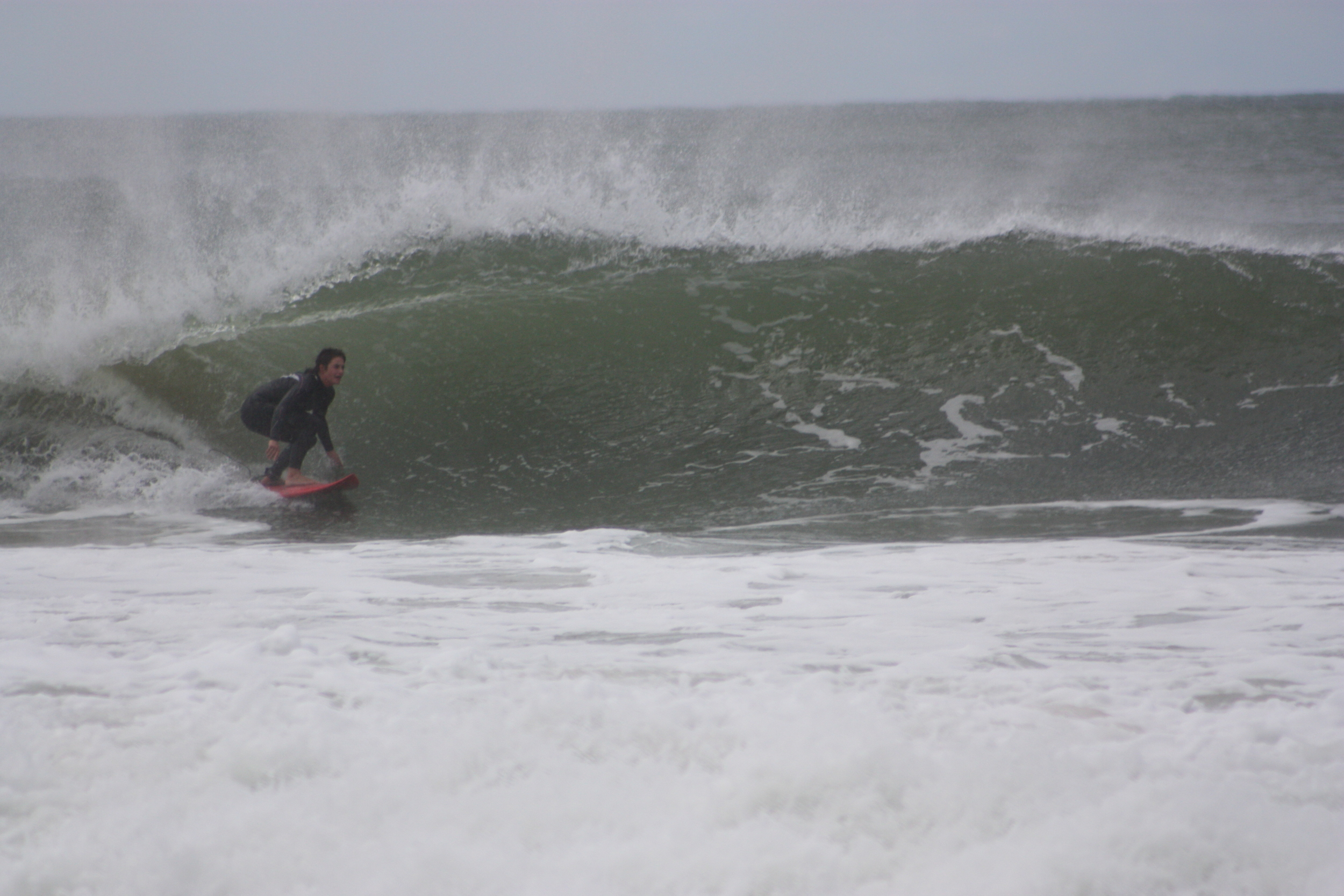 Me at Puckeys in winter. Pic by Jess Bramley Alves