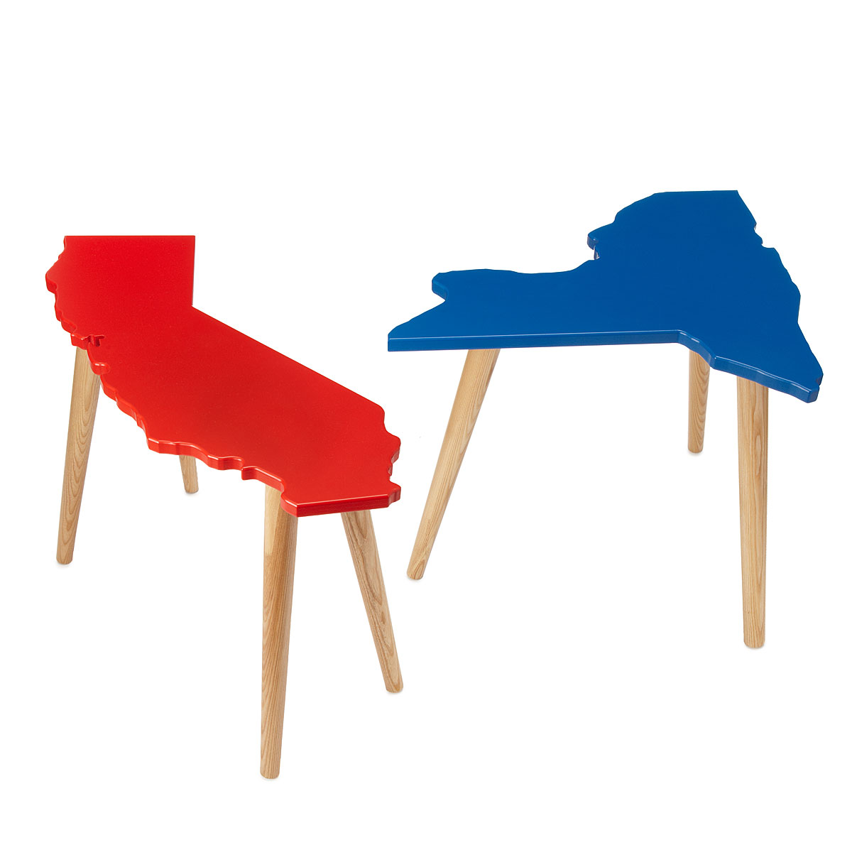 Customize your state and table color. $200 from Uncommon Goods.
