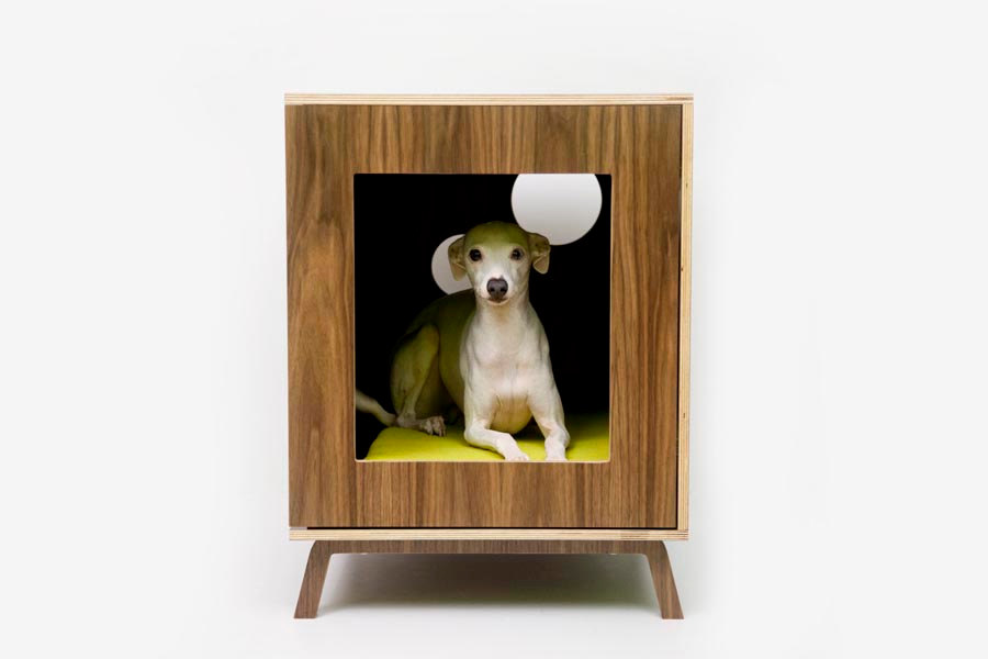 I've been crushing on this company,  Modernist Cat  for a while now. Mid-century mod + utilitarian + pet-friendly = perfection. $599.