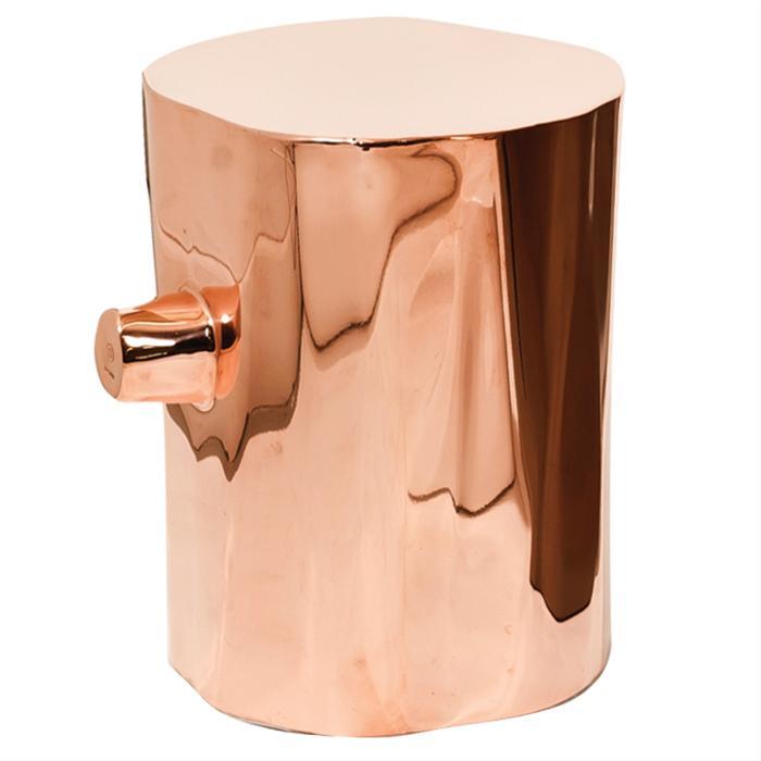 Beautiful color. Vivre Copper Stump Side Table. $3,075.