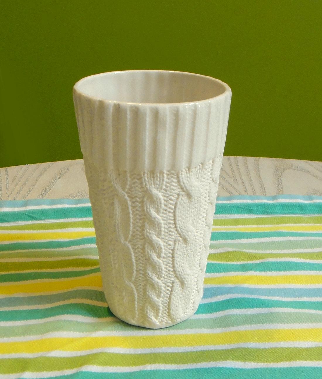Entirely ceramic.
