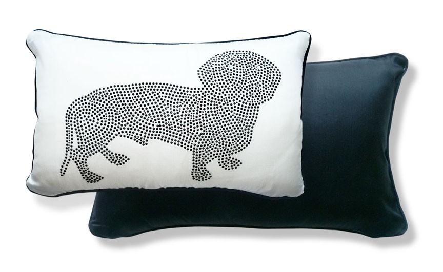 Rhinestone pillow, $54.95.
