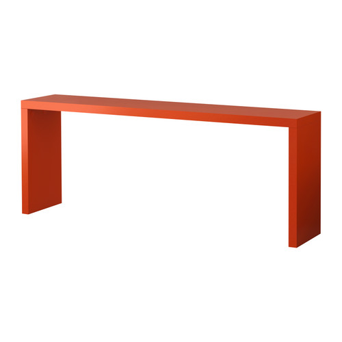 This would be a great pop of color behind a neutral sofa. Ikea, $129.