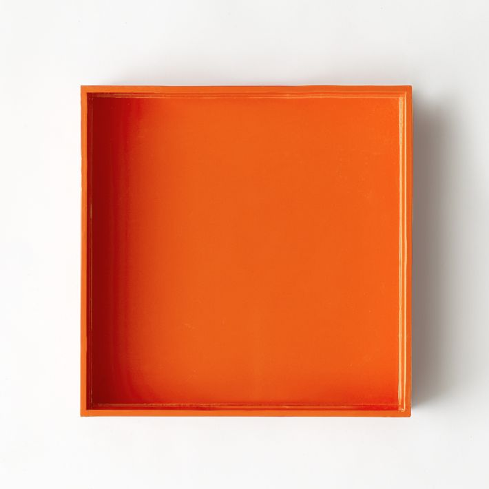 West Elm Lacquer Tray, $24.