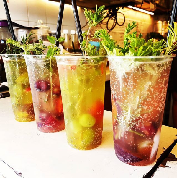 Visit Cafe Levinsky for a refreshing gazoz - no two are exactly alike!